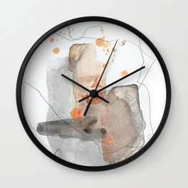 Piece of Cheer 3 Wall Clock