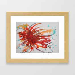 Emotion Drawing II Framed Art Print