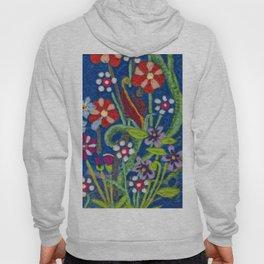 Cozy Felted Wool Flower Garden Hoody