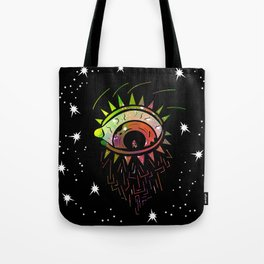 Right Eye of Space Kami Tote Bag