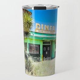 Deserted Desert Diner Travel Mug