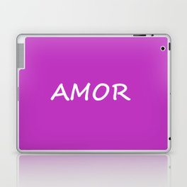 Amor, Spanish Love Laptop & iPad Skin