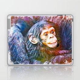 Cute Chimpanzee Baby Laptop & iPad Skin