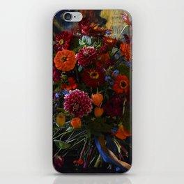 Red & Orange Bouquet iPhone Skin