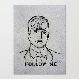 Sheepy Head Canvas Print