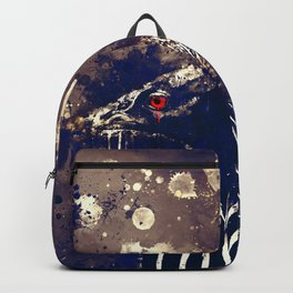 vulturine guineafowl bird wsfn Backpack