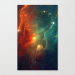 Abstract Galaxy Series No 1 Canvas Print