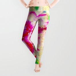 Floral theme [spring bollywood) Leggings