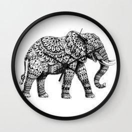 Ornate Elephant 3.0 Wall Clock
