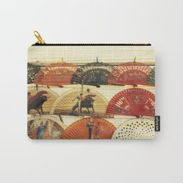 Spanish Scratched Fans Carry-All Pouch