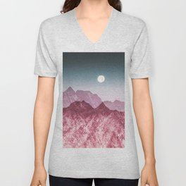 Unstoppable moon Unisex V-Neck