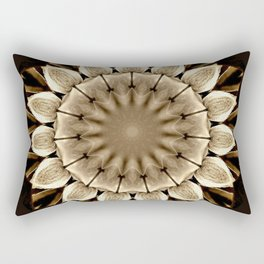Abstract Sunflower Rectangular Pillow