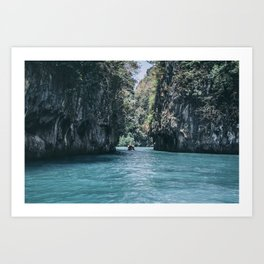 The Secret Lagoon Art Print