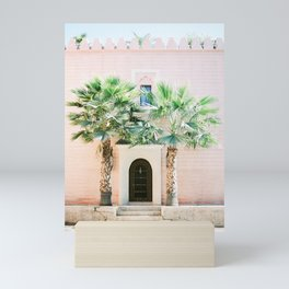 """Travel photography print """"Magical Marrakech"""" photo art made in Morocco. Pastel colored. Mini Art Print"""