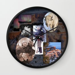 Environmental Self-portrait  Wall Clock