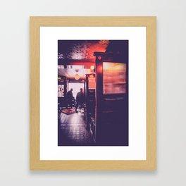 Old Man Pub Framed Art Print