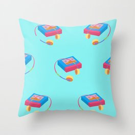 Back To The 90's Throw Pillow