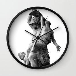 Rape of the Polyxena Wall Clock