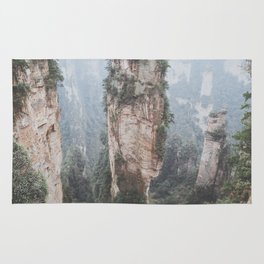 Zhangjiejia National Forest Park Rug