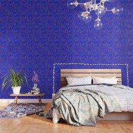 Blue Oil spill Wallpaper