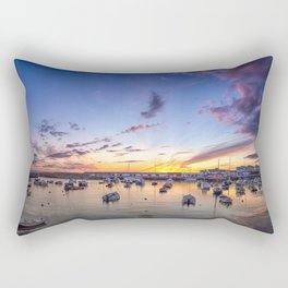 Portrush Harbour,Ireland,Northern Ireland Rectangular Pillow