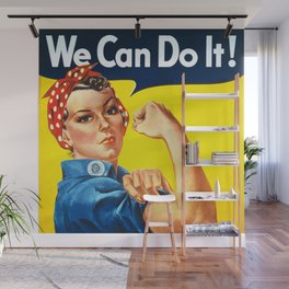 We can do it! Wall Mural