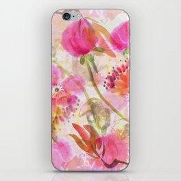 Madame Butterfly Dances Here iPhone Skin