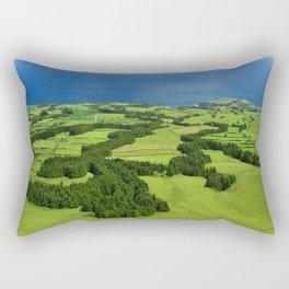 Typical Azores landscape Rectangular Pillow
