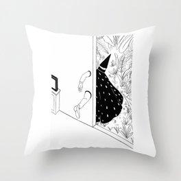 brujo Throw Pillow