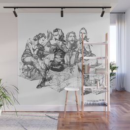 Lace of Ladies Wall Mural