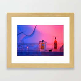 Frozen drinks - Hotel de Glace  Framed Art Print