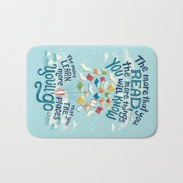 Go places Bath Mat