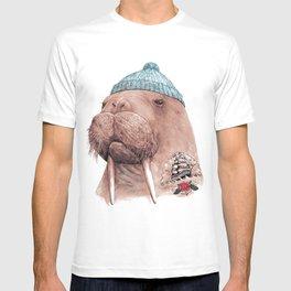 Tattooed Walrus T-Shirt