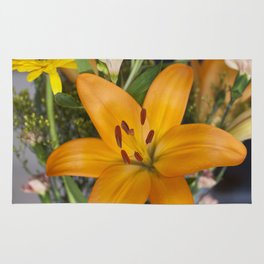 Lilium in Orange Rug