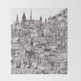 Prague Throw Blanket