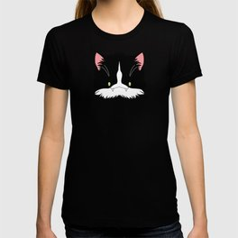 Spoopy Tuxedo Kitty disguise! T-shirt