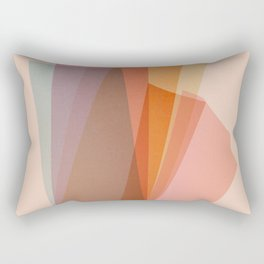 Abstraction_Spectrum Rectangular Pillow