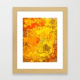 Red2. Painting Framed Art Print