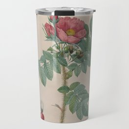 Rosa JP Redoute Travel Mug
