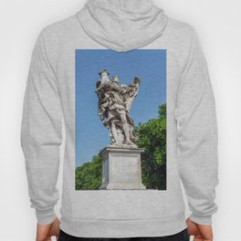 Angel with the Column at the Sant'Angelo bridge - Rome, Italy Hoody