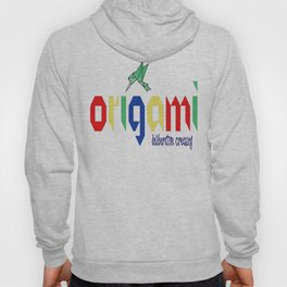Origami: Deliberative Creasing Hoody
