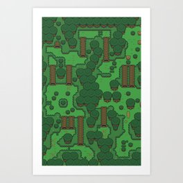 Gamers Have Hearts - The Lost Link Art Print