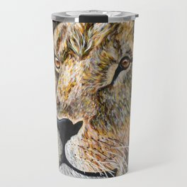 Portrait of a Lion Travel Mug