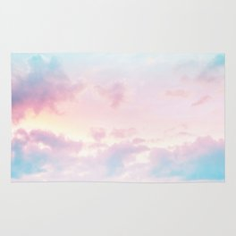 Unicorn Pastel Clouds #2 #decor #art #society6 Rug