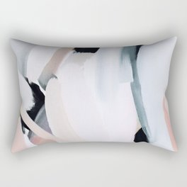 Abstract Brush Strokes, I Rectangular Pillow