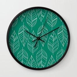 Vintage LeaesPatr Wall Clock