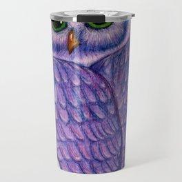 The Quizzical Owl Travel Mug