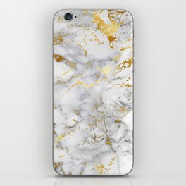 Gold Mine Marble iPhone Skin