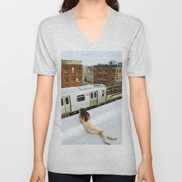 After the gold rush Unisex V-Neck