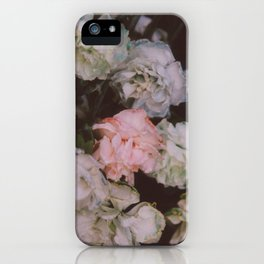Pastel Carnations iPhone Case